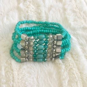 Torquise Beaded Bracelet